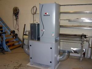 Kondensationsfilter för processanläggning